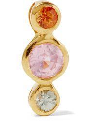 Scosha - Dusk Gold-plated Sapphire Earring - Lyst