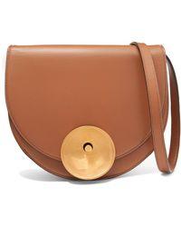Marni - Monile Large Leather Shoulder Bag - Lyst