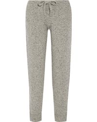 HATCH - The Jogger Mélange Wool-blend Track Trousers - Lyst