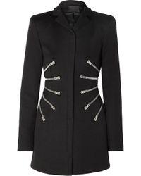 Alexander Wang - Zip-detailed Twill Jacket - Lyst