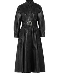 Dodo Bar Or - Belted Leather Coat - Lyst