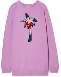 Tomas Maier - Oversized Intarsia Cashmere Sweater - Lyst