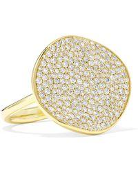 Ippolita - Stardust Flower 18-karat Gold Diamond Ring Gold 7 - Lyst