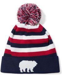 Perfect Moment - Polar Intarsia Wool-blend Beanie - Lyst