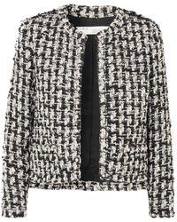IRO - Gonna Faux Pearl-embellished Tweed Jacket - Lyst