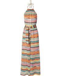Missoni - Mare Metallic Crochet-knit Jumpsuit - Lyst