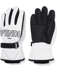 Fendi - Two-tone Shell Ski Gloves - Lyst