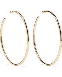 Jennifer Fisher - Lilly Gold-plated Hoop Earrings - Lyst