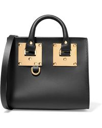 Sophie Hulme - Albion Box Mini Leather Shoulder Bag - Lyst