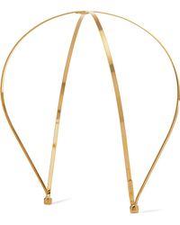 LELET NY - Exes Gold-plated Headband - Lyst