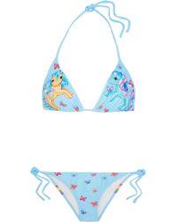Moschino | + My Little Pony Printed Triangle Bikini | Lyst
