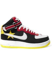 Nike - + Riccardo Tisci Air Force 1 Leather High-top Sneakers - Lyst