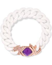 Stephen Webster - 18-karat Rose Gold, Mother-of-pearl And Ceramic Bracelet - Lyst