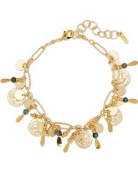 Chan Luu - Gold-tone Turquoise Bracelet - Lyst