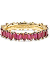 Suzanne Kalan - 18-karat Gold Ruby Ring - Lyst