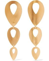 Chan Luu - Gold-plated Earrings - Lyst