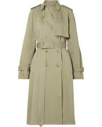 The Row - Triana Cotton-twill Trench Coat - Lyst