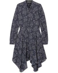 Stella McCartney | Printed Silk Crepe De Chine Dress | Lyst