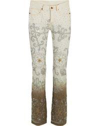 Ashish - Voyage Embellished Dégradé Mid-rise Bootcut Jeans - Lyst