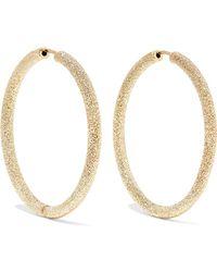 Carolina Bucci - Florentine 18-karat Gold Hoop Earrings - Lyst