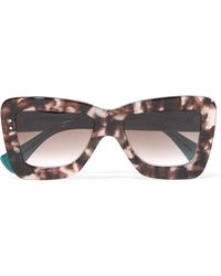 ROKSANDA - + Cutler And Gross Square-frame Acetate Sunglasses - Lyst