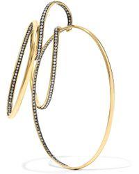 Gaelle Khouri - Episteme 18-karat Gold Diamond Earring - Lyst