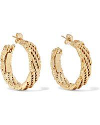 Rosantica - Volutta Gold-tone Earrings - Lyst