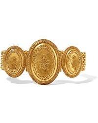 Fred Leighton - 1880s 18-karat Gold Bracelet - Lyst
