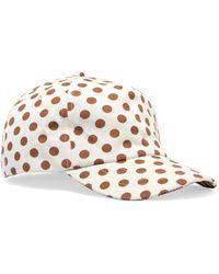 Zimmermann - Exclusive Polka-dot Cotton-twill Baseball Cap - Lyst