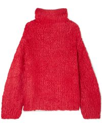 Elizabeth and James - Hedda Silk And Cashmere-blend Sweater - Lyst