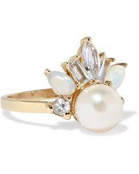 Loren Stewart - Crowned Jewel Ii 14-karat Gold Multi-stone Ring Gold 8 - Lyst