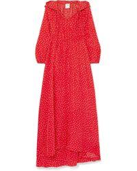 Vetements - Hooded Polka Dot Dress - Lyst