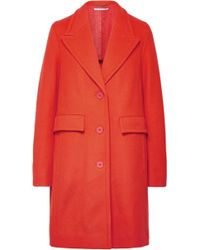 Stella McCartney - Wool-blend Coat - Lyst