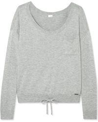 Calvin Klein - Pure Knitted Pyjama Top - Lyst
