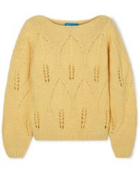 M.i.h Jeans - Lacey Knitted Sweater - Lyst