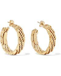Rosantica - Volutta Gold-tone Earrings Gold One Size - Lyst