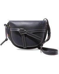 Loewe - Gate Small Leather Shoulder Bag - Lyst