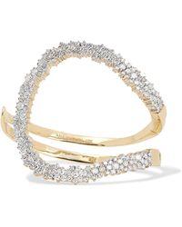Ana Khouri - Mirian 18-karat Gold Diamond Bracelet - Lyst