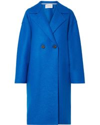 Harris Wharf London - Oversized Double-breasted Coat - Lyst