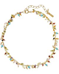 Chan Luu - Gold-plated Crystal Anklet - Lyst