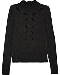 Isabel Marant - Elea Cutout Knitted Sweater - Lyst
