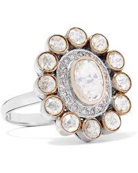 Amrapali | 18-karat Gold Diamond Ring | Lyst
