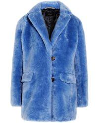 J.Crew | Yuna Faux Fur Coat | Lyst