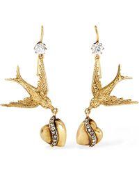 Fred Leighton - 1900s 14-karat Gold Diamond Earrings - Lyst