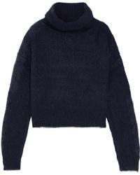 Carven - Knitted Turtleneck Jumper - Lyst