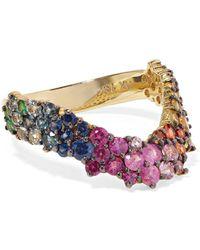 Ana Khouri - Simplicity 18-karat Gold Sapphire Ring - Lyst