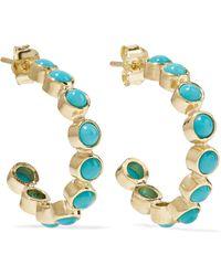 Jennifer Meyer - 18-karat Gold Turquoise Earrings - Lyst