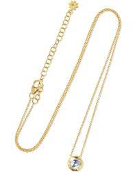 Amrapali - Kundan 18-karat Gold Diamond Necklace Gold One Size - Lyst