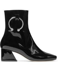 Dorateymur - Nizip Embellished Patent-leather Ankle Boots - Lyst
