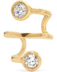 Ana Khouri - Amelie 18-karat Gold Diamond Ear Cuff - Lyst
